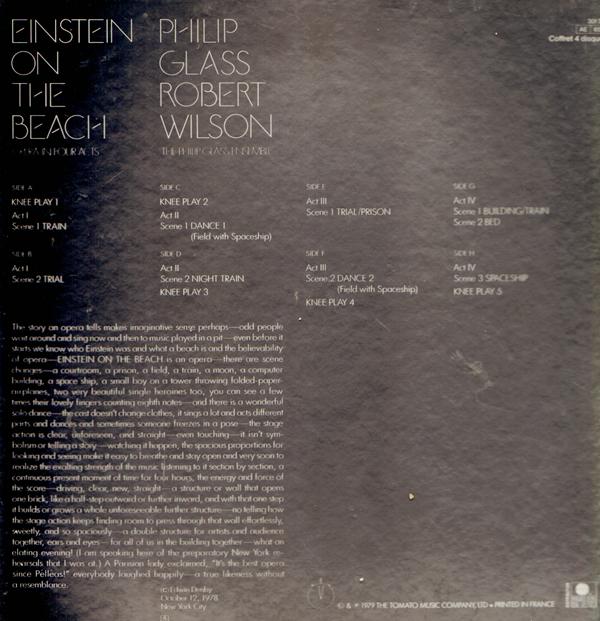 philip glass knee play 1 from einstein on the beach essay
